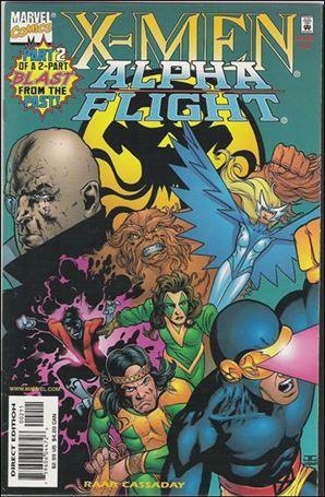 X-Men/Alpha Flight (1998) 2-A