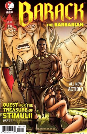 Barack the Barbarian: Quest for the Treasure of Stimuli  1-A