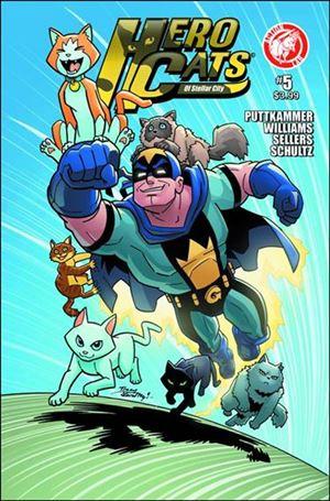 Hero Cats of Stellar City 5-A