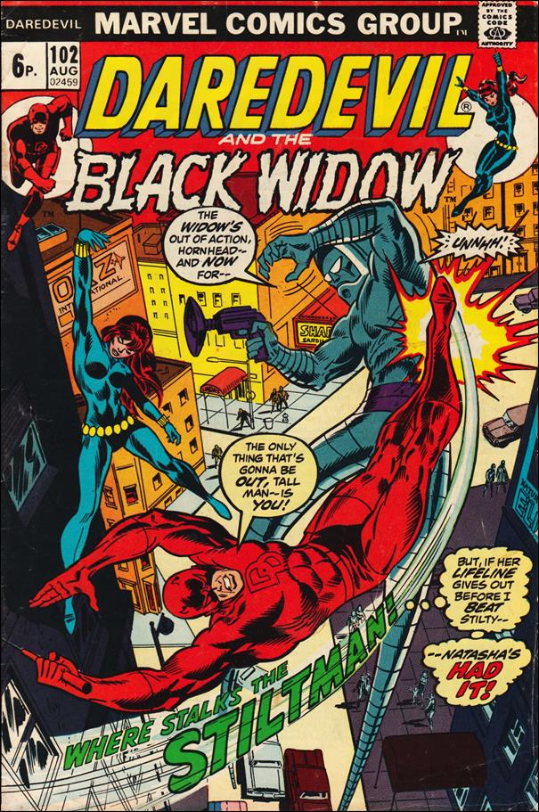 Daredevil (1964) 102-B by Marvel