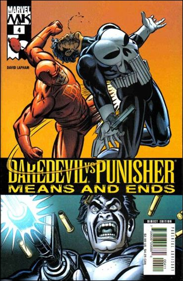 Daredevil vs Punisher: Means and Ends 4-A by Marvel