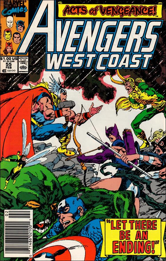 Avengers West Coast 55-A by Marvel