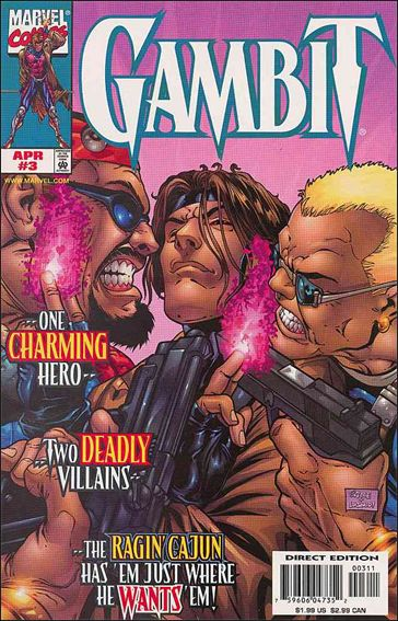 Gambit (1999) 3-A by Marvel