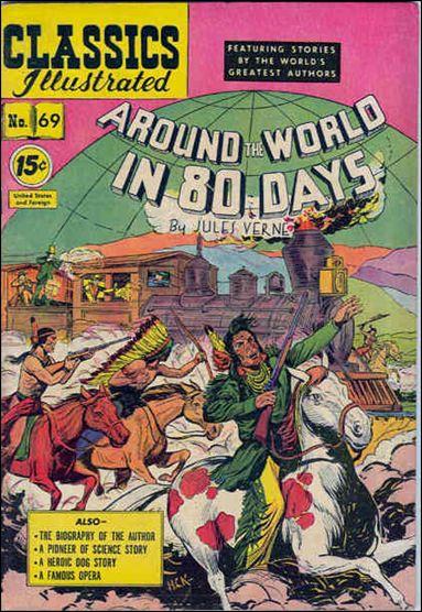 Classic Comics/Classics Illustrated 69-B by Gilberton