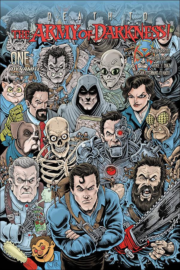 Death to the Army of Darkness 1-E by Dynamite Entertainment