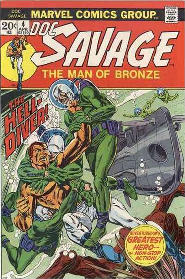 Doc Savage (1972) 4-A by Marvel