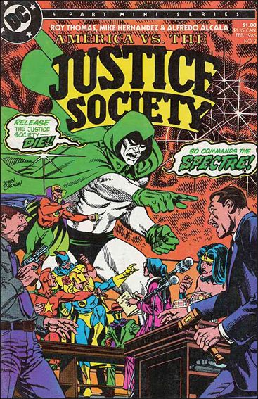 America vs the Justice Society 2-A by DC