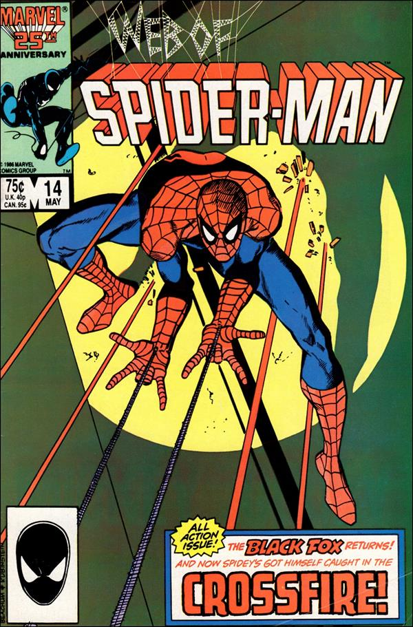 Web of Spider-Man (1985) 14-A by Marvel
