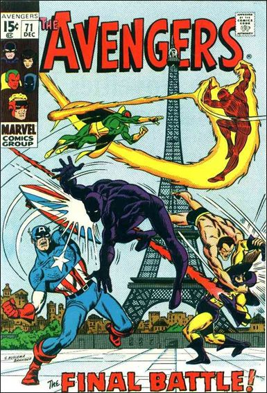 Avengers (1963) 71-A by Marvel