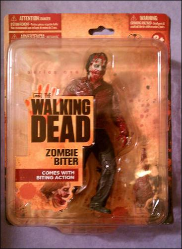 Walking Dead (TV Series 1)  Zombie Biter (Wal-Mart Exclusive) by McFarlane Toys