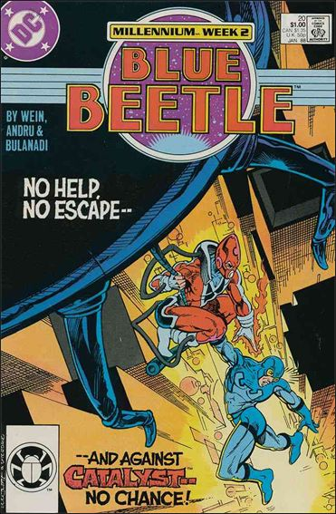 Blue Beetle (1986) 20-A by DC