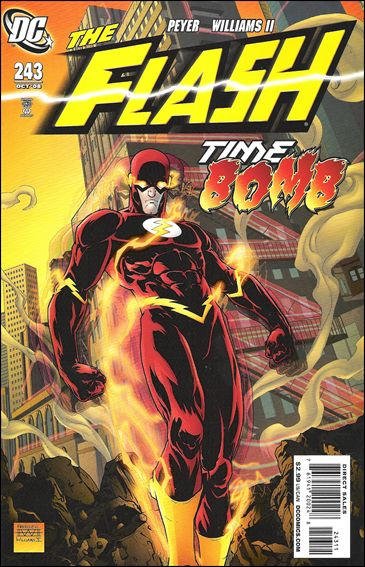 Flash (1987) 243-A by DC