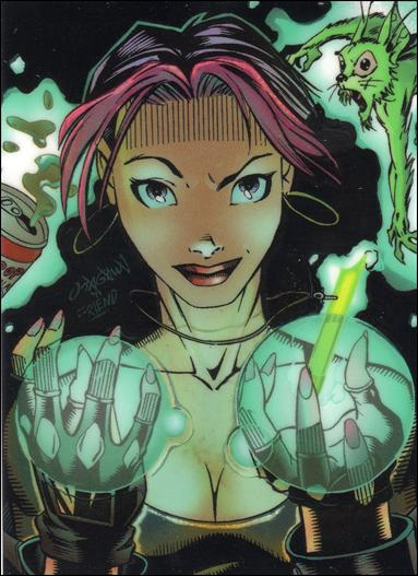 Gen 13: Series 1 (Glow in the Dark Chromium Card Subset) GL6-A by WildStorm