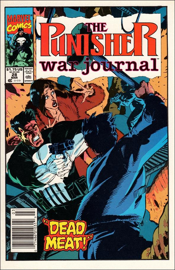 Punisher War Journal (1988) 28-A by Marvel