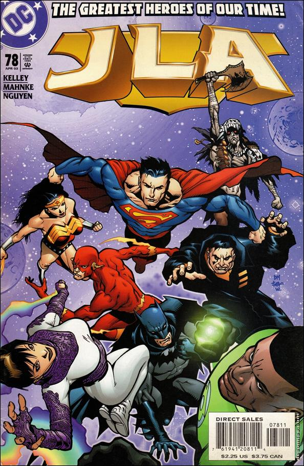 JLA 78-A by DC