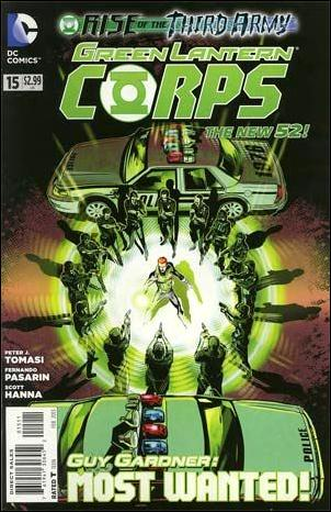 Green Lantern Corps (2011) 15-A by DC