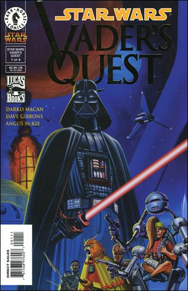 Star Wars: Vader's Quest 1-B by Dark Horse