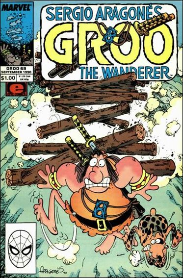 Sergio Aragones Groo the Wanderer 69-A by Epic