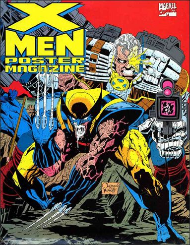 X-Men Poster Magazine 1-A by Marvel