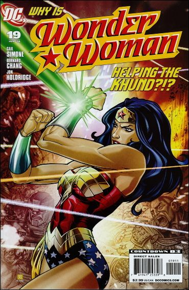 Wonder Woman (2006) 19-A by DC