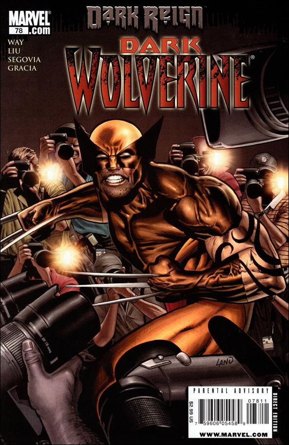 Dark Wolverine 78-A by Marvel