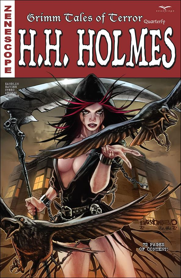 Grimm Tales of Terror Quarterly: H.H. Holmes 1-A by Zenescope Entertainment