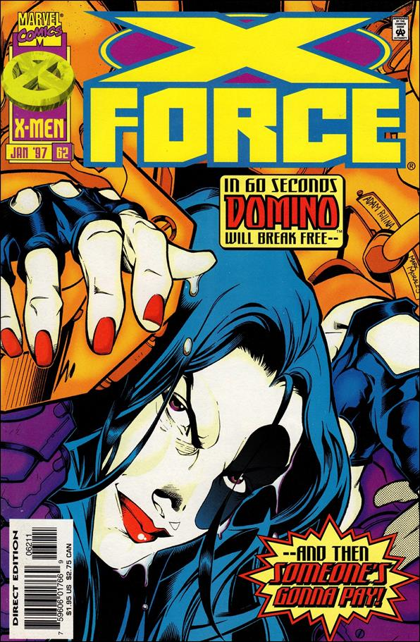 X-Force (1991) 62-A by Marvel