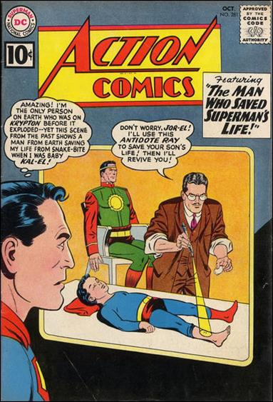 Action Comics (1938) 281-A by DC