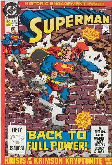 Superman (1987) 50-B by DC