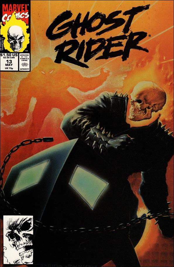 Ghost Rider (1990) 13-A by Marvel