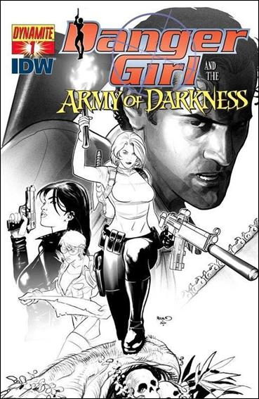 Danger Girl and the Army of Darkness 1-E by Dynamite Entertainment