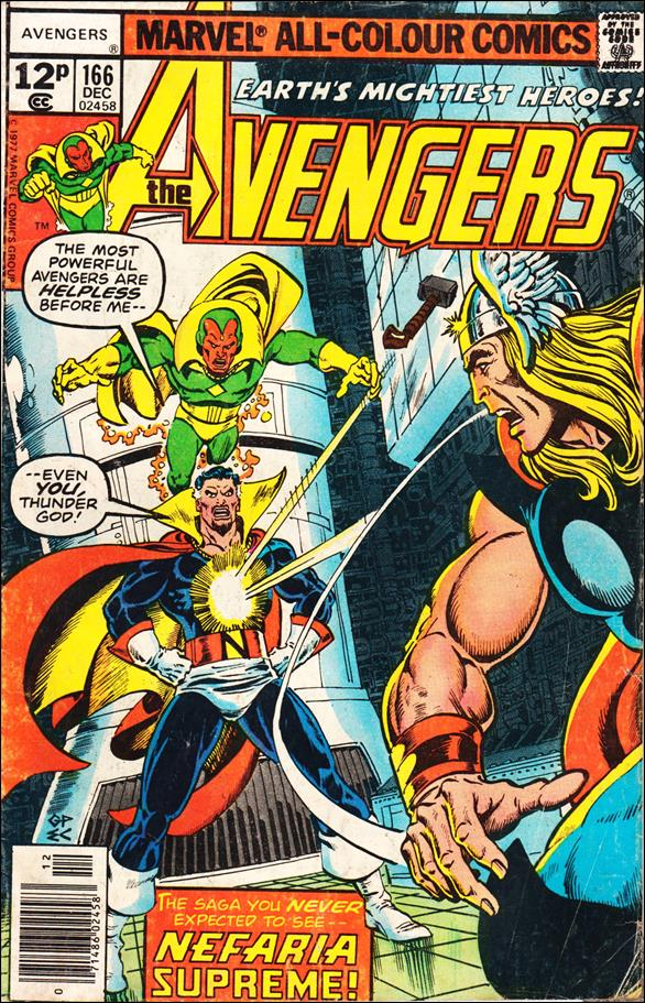 Avengers (1963) 166-B by Marvel