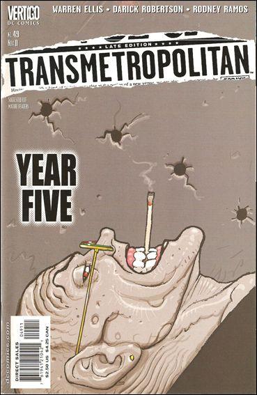 Transmetropolitan 49-A by Vertigo