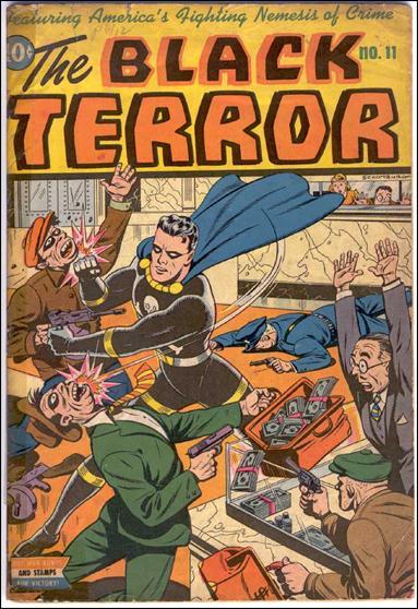 Black Terror (1942) 11-A by Nedor