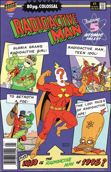 Radioactive Man (1995) 1-A by Bongo