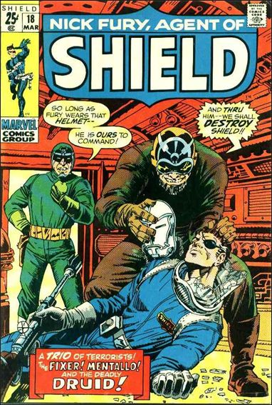 Nick Fury, Agent of S.H.I.E.L.D. (1968) 18-A by Marvel