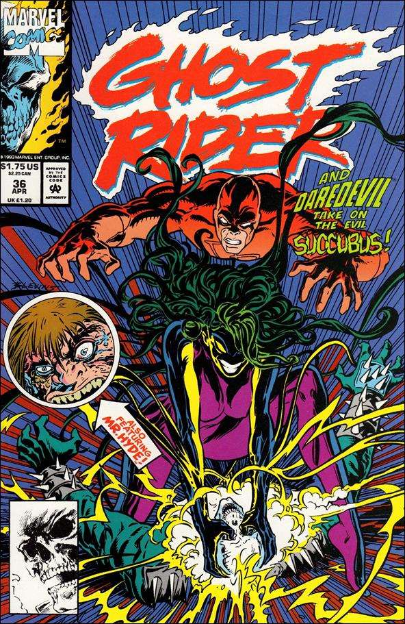 Ghost Rider (1990) 36-A by Marvel