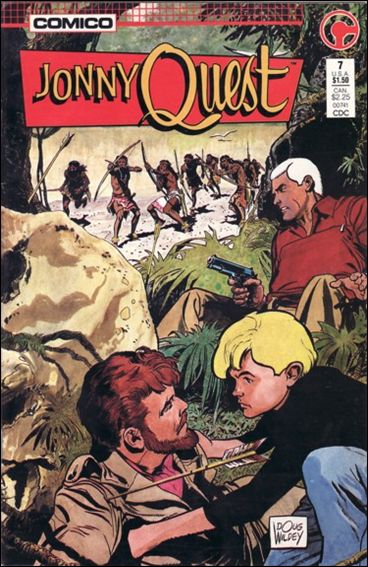 Jonny Quest (1986) 7-A by Comico