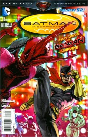 Batman Incorporated 11-D by DC