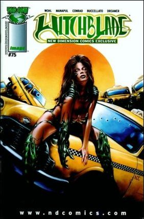 Witchblade 75-F by Top Cow