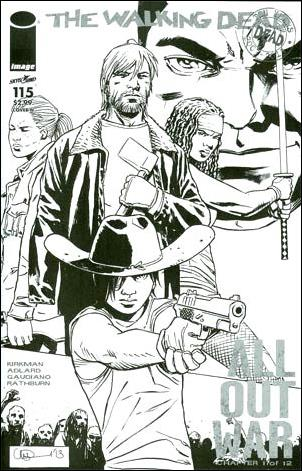 Walking Dead (2003) 115-N by Skybound Entertainment