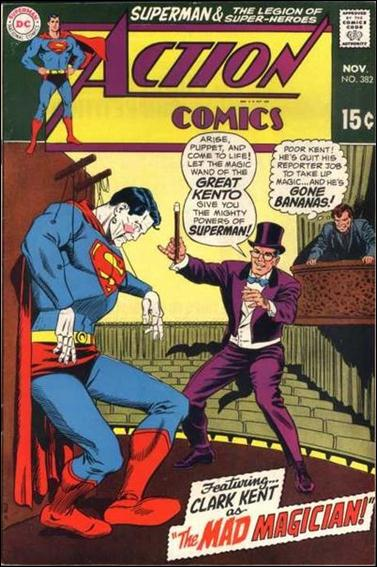Action Comics (1938) 382-A by DC