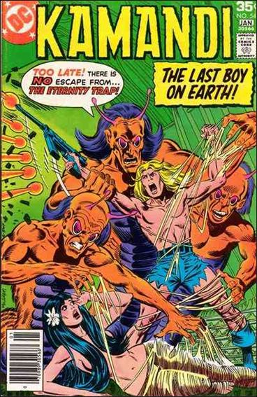 Kamandi, the Last Boy on Earth 54-A by DC