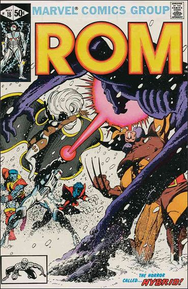 ROM (1979) 18-A by Marvel