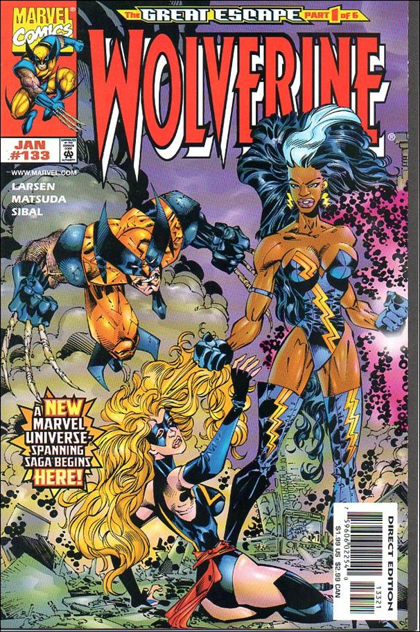 Wolverine (1988)  133-B by Marvel