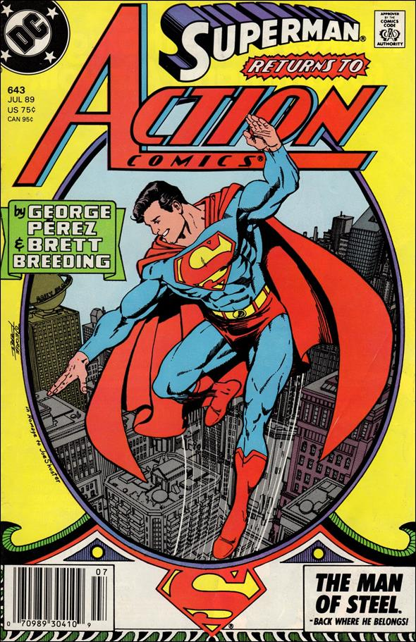 Action Comics (1938) 643-A by DC