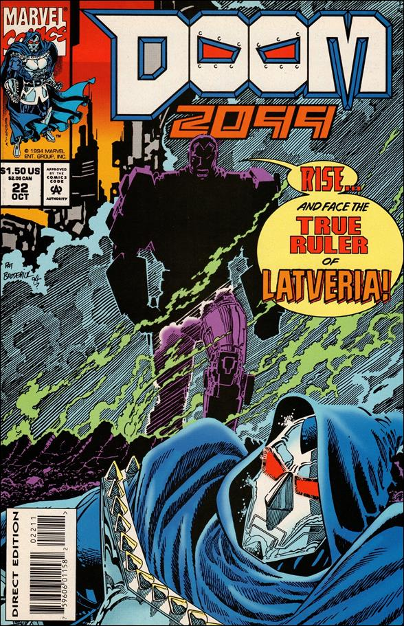 Doom 2099 22-A by Marvel