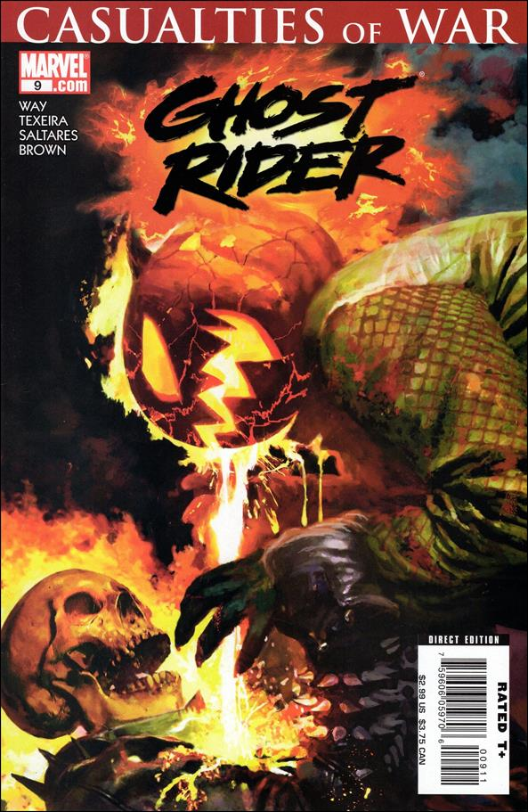 Ghost Rider (2006) 9-A by Marvel