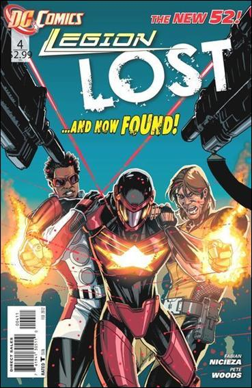 Legion Lost (2011) 4-A by DC