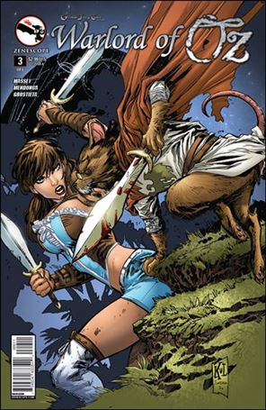 Grimm Fairy Tales Presents Warlord of Oz 3-A